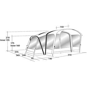 Outwell Hartsdale 4PA Tente, petrol